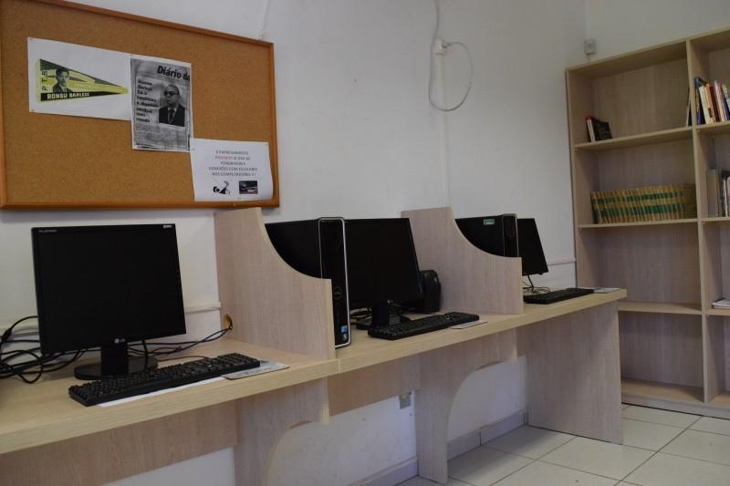 Mais computadores na Câmara Cidadã