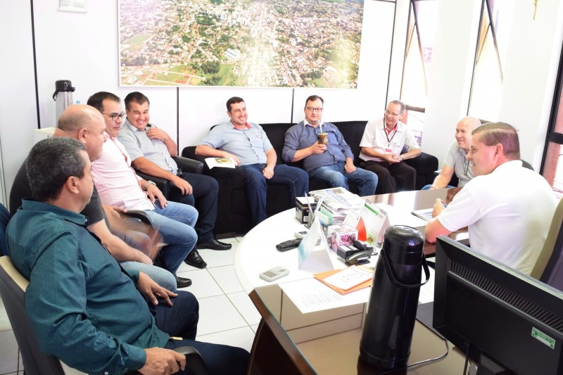 Patronagem do CTG Rincão Serrano busca apoio do Legislativo