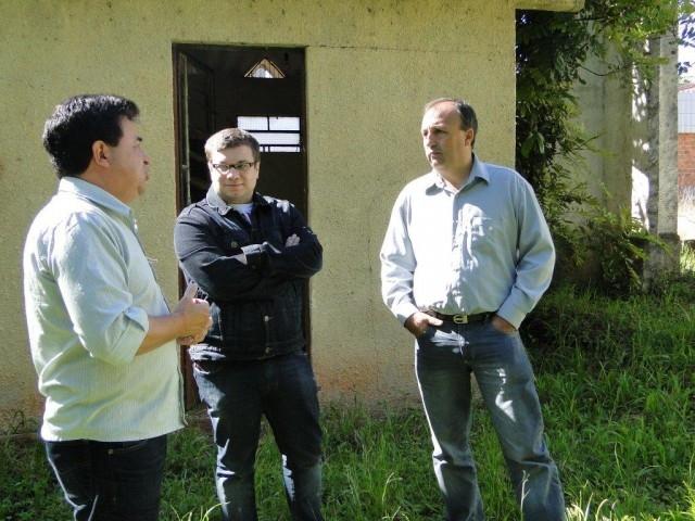 IML – Felipe Sálvia e Marcos Soares irão buscar melhorias  para unidade do município.
