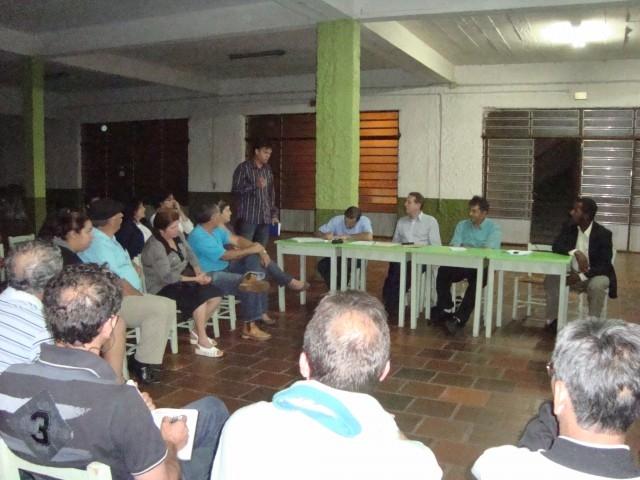 SAÚDE - Erlei Participa de Plenária da UACC