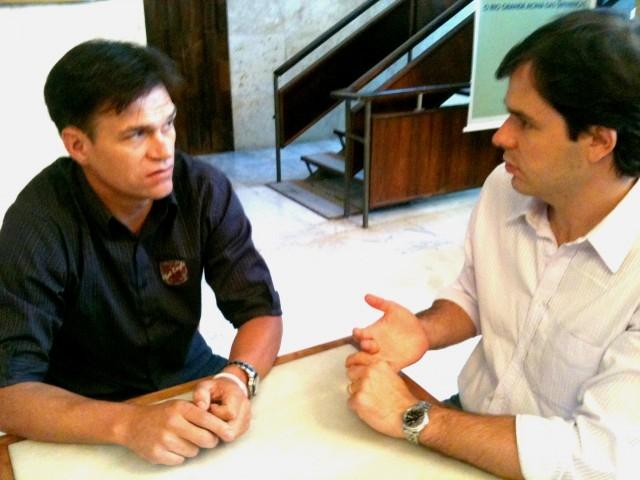 Vereador Erlei busca com Biolchi informações sobre recurso para unidade de desintoxicação