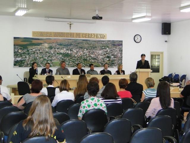 LEGISLATIVO é Sede da Posse das duas novas delegadas.