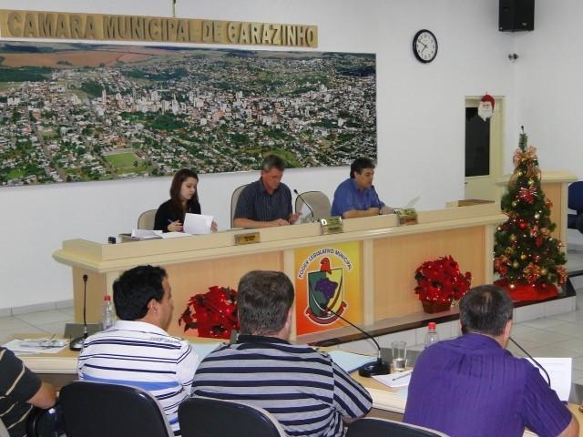 Clima Natalino no Legislativo Municipal.
