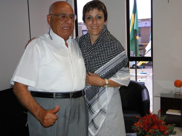 Abdel Tamimi Visita a Presidente