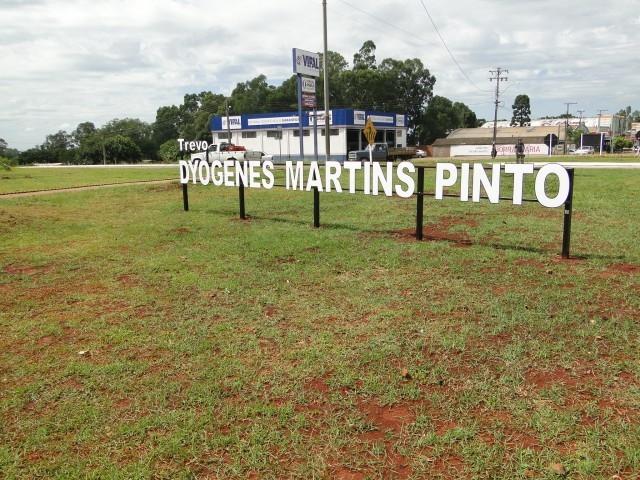 Inauguração do Trevo Dyogenes Martins Pinto
