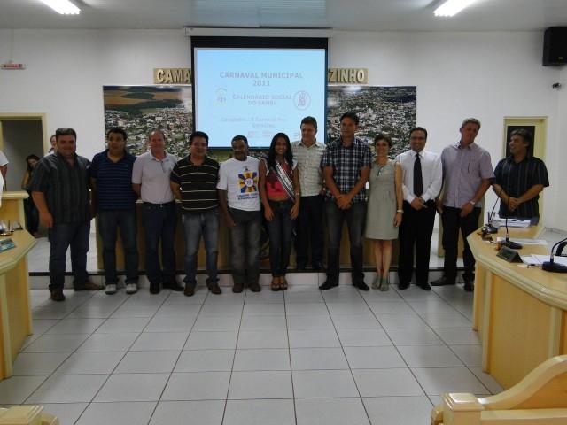 Liga Apresenta a Programação do Carnaval 2011 aos Vereadores.