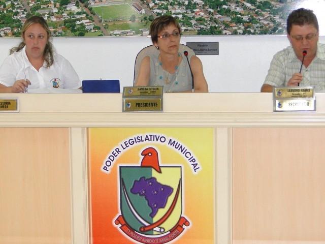 Primeira Sessão Ordinária sem Projetos em Pauta