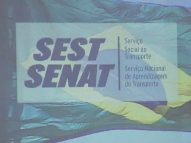 Legislativo Representado na Formatura do Curso de Logística Básica-SEST-SENAT