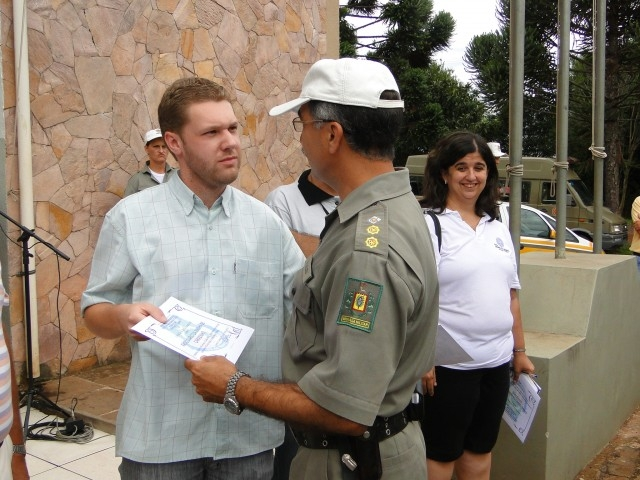 Legislativo Recebe homenagem da Brigada Militar