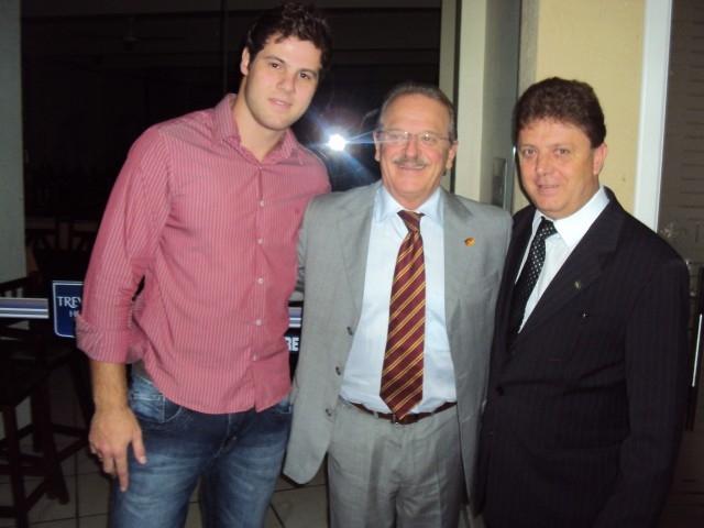 Vereador Leandro Adams Acompanhou o Governador Tarso Genro em Visita a Carazinho
