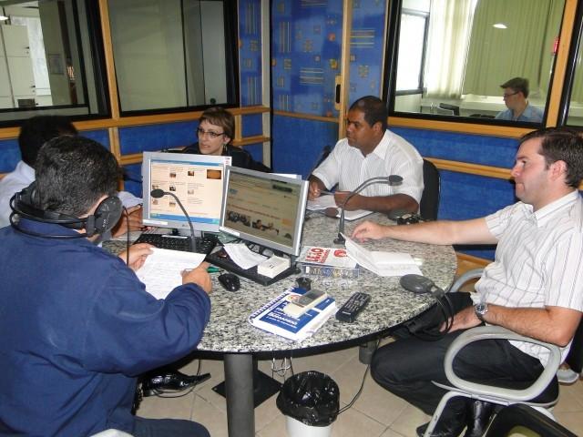 Sandra Citolin Representa Carazinho em  Debate regional na Rádio Planalto