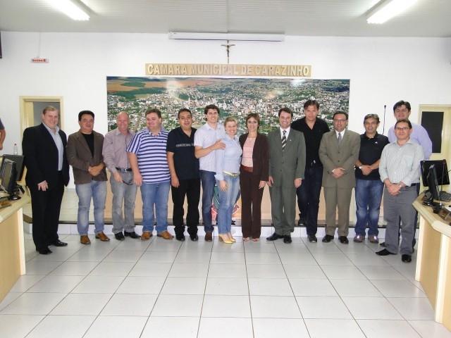 Presidente da JCI Brasil no Legislativo