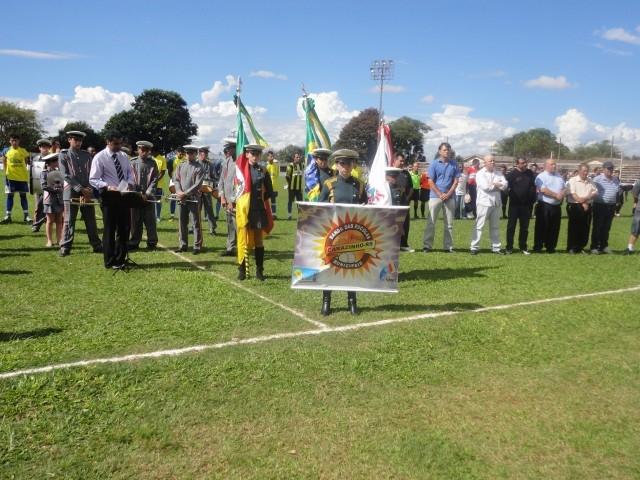 Abertura do Campeonato Municipal de Futebol de Campo