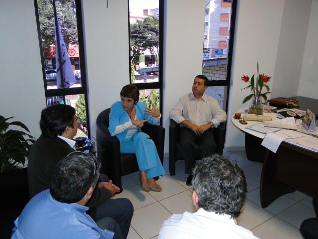Deputado Federal Ronaldo Nogueira visita o Legislativo