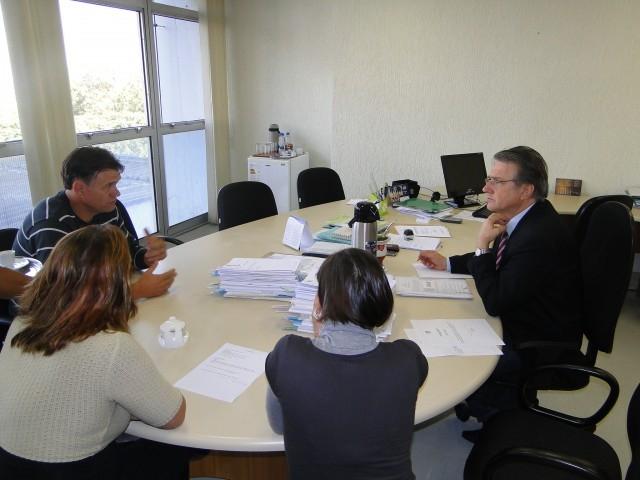 Erlei se reúne com o Secretário Adjunto da Saúde Elemar Sand