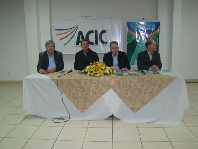 Lançamento do Novo Departamento da ACIC