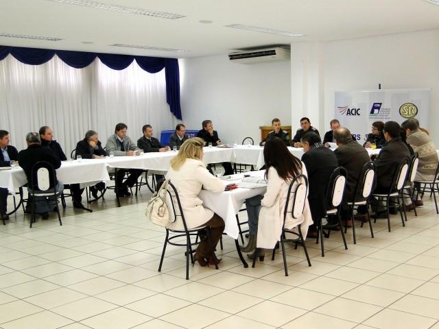 Reunião Almoço da ACIC com a presença da Presidente Sandra Citolin