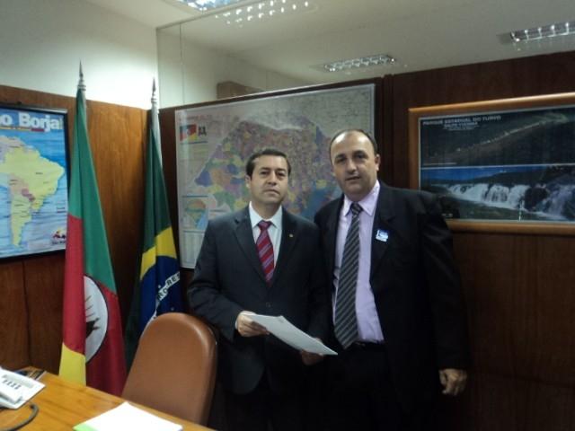 Deputado Federal Ronaldo Nogueira apoia Ampliação do CTG Unidos Pela Tradição Riograndense