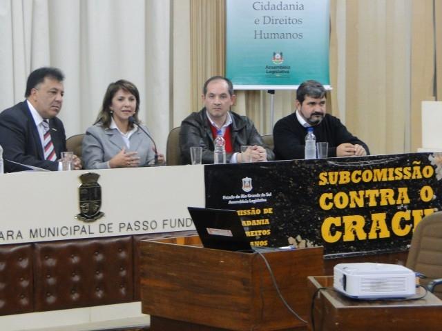 Vereador Erlei Representa Carazinho em Audiência Pública Contra o Crack