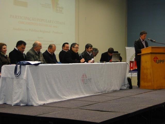 Audiência Pública debateu o Plano Plurianual Participativo 2012-2015