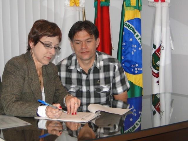 Presidente Sandra Citolin promulgou Leis de autoria dos vereadores