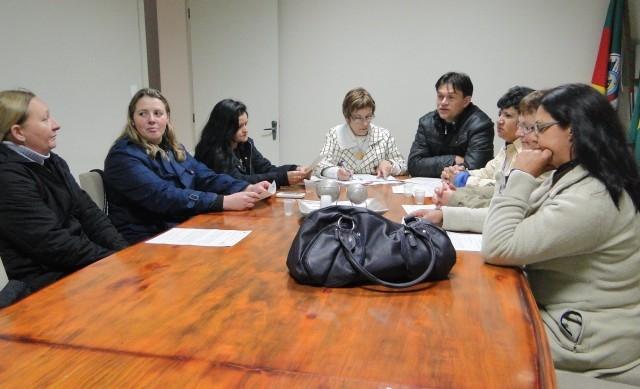 Legislativo Municipal recebe representantes da classe das Agentes Comunitárias de Saúde