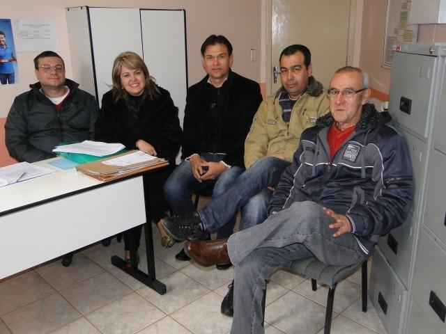 Vereador Erlei reuniu-se com Equipe do Ambulatório de Saúde Mental