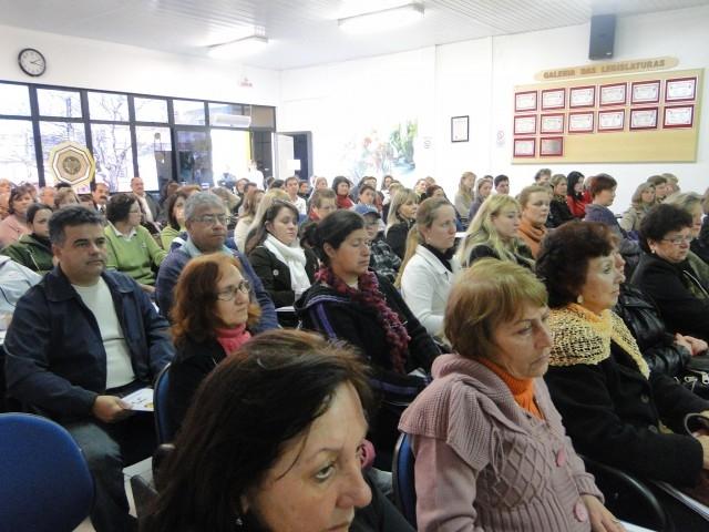 Grande público participou da 1ª Conferência Municipal de Enfrentamento a violência contra as Mulheres