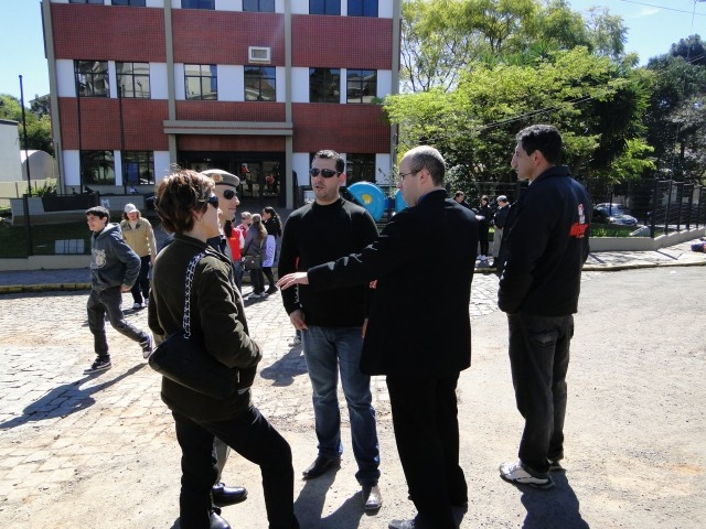 Presidente acompanhou manifesto dos funcionários da rede  Boa Vista