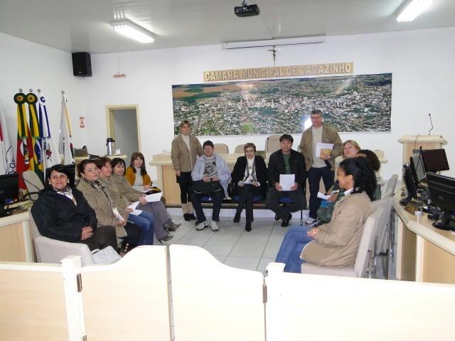 Equipe do PREVICARAZINHO apresenta intenção em realizar Concurso Público