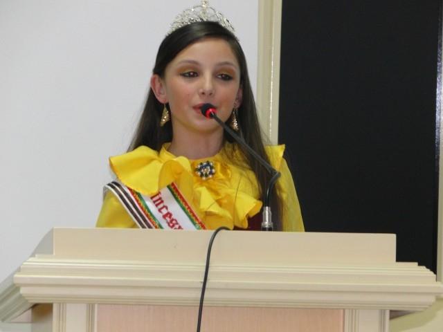 1ª Princesa Infantil do Miss Rio Grande do Sul foi Homenageada no Legislativo