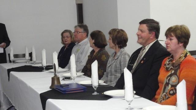 Jantar de Confraternização com a presença do Governador do Rotary