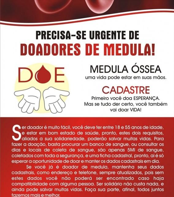 Semana Municipal de Doação de Medula