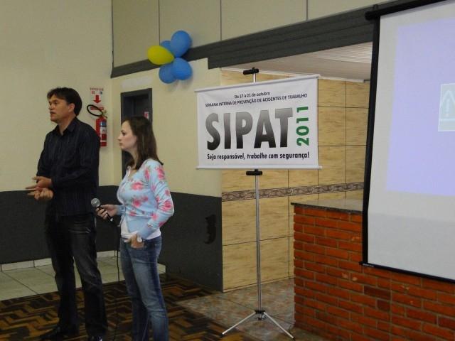 Vereador Erlei participou da SIPAT da empresa Carmetal