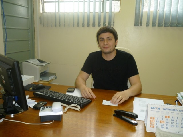 Mauro Mazzutti  confirmou presença no legislativo