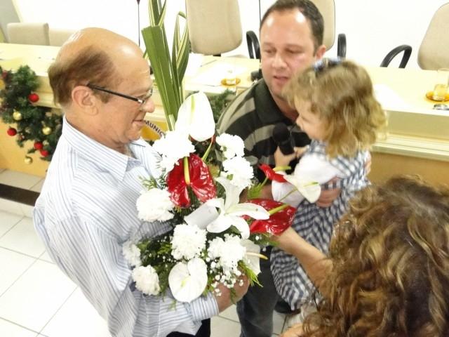 Homenagem ao Pediatra Dr. Davi Saute