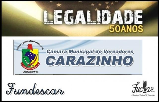 Convite Evento alusivo a passagem de 50 anos do Movimento da Legalidade