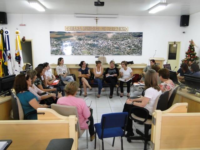 Reunião do Conselho Municipal dos Direitos da Mulher