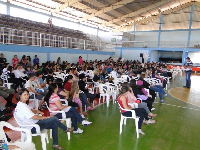 Erlei Vieira palestrou no 81º Encontro das Conselheiras Tutelares da AMPLA