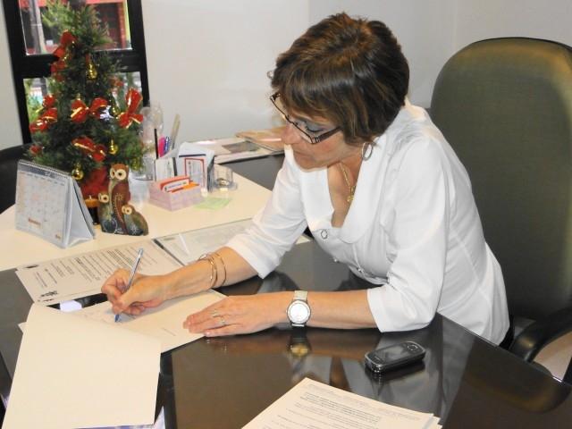 Sandra Citolin promulgou  projetos de Lei de autoria do Legislativo