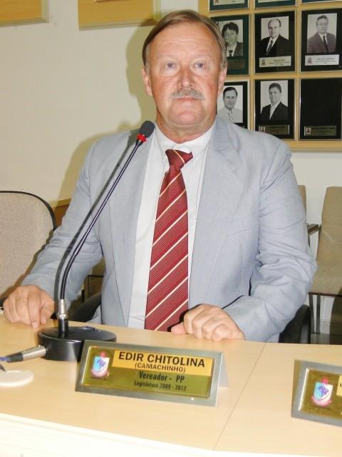Vereador Camachinho é diplomado no Legislativo
