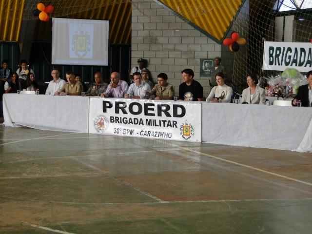 Formatura de  272 alunos do  PROERD