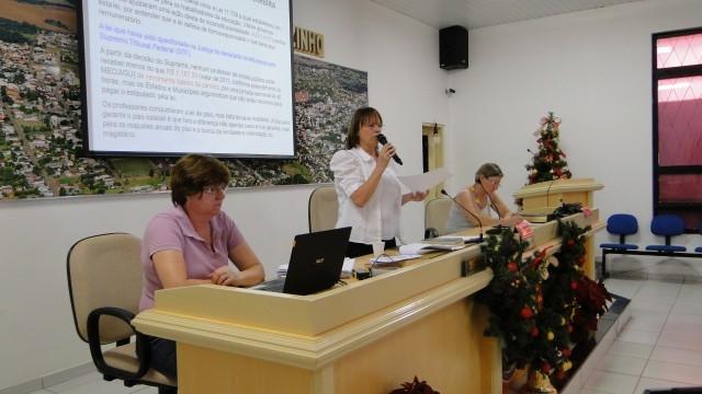Legislativo sedia Assembléia dos Professores Municipais