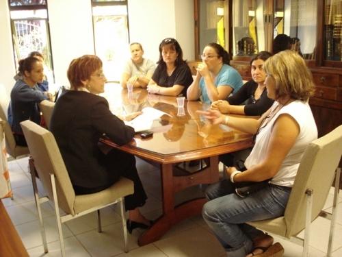 Vereadora recebe grupo de Educadoras Infantis