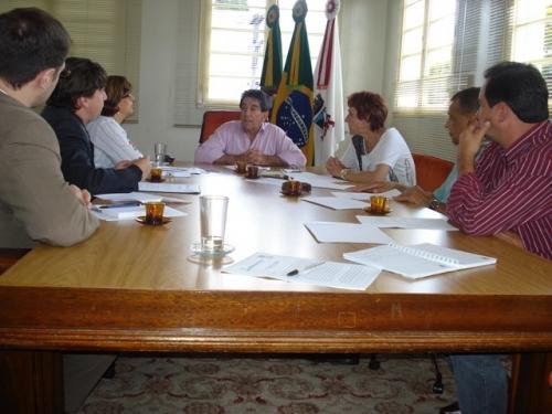 Vereadora Sandra Citolin e ULBRA apresentam projeto ao prefeito