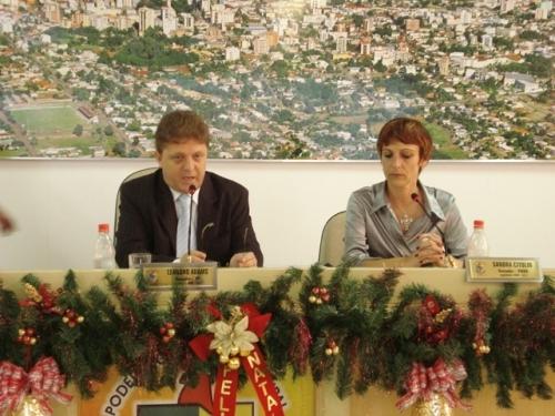 Reunião de Posse dos Vereadores - 15º Legislatura.