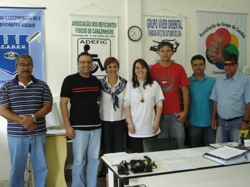 Vereadores visitam Associação dos Deficientes