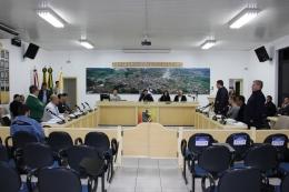 Vereadores Tomate, Zanetti e Gauchinho foram os únicos a se manifestar contrários a votação ao PL 018/19