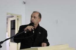 chefe do Escritório Municipal da Emater, Renato Serafini.