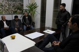 Reunião Vereadores e Sindicato dos Servidores